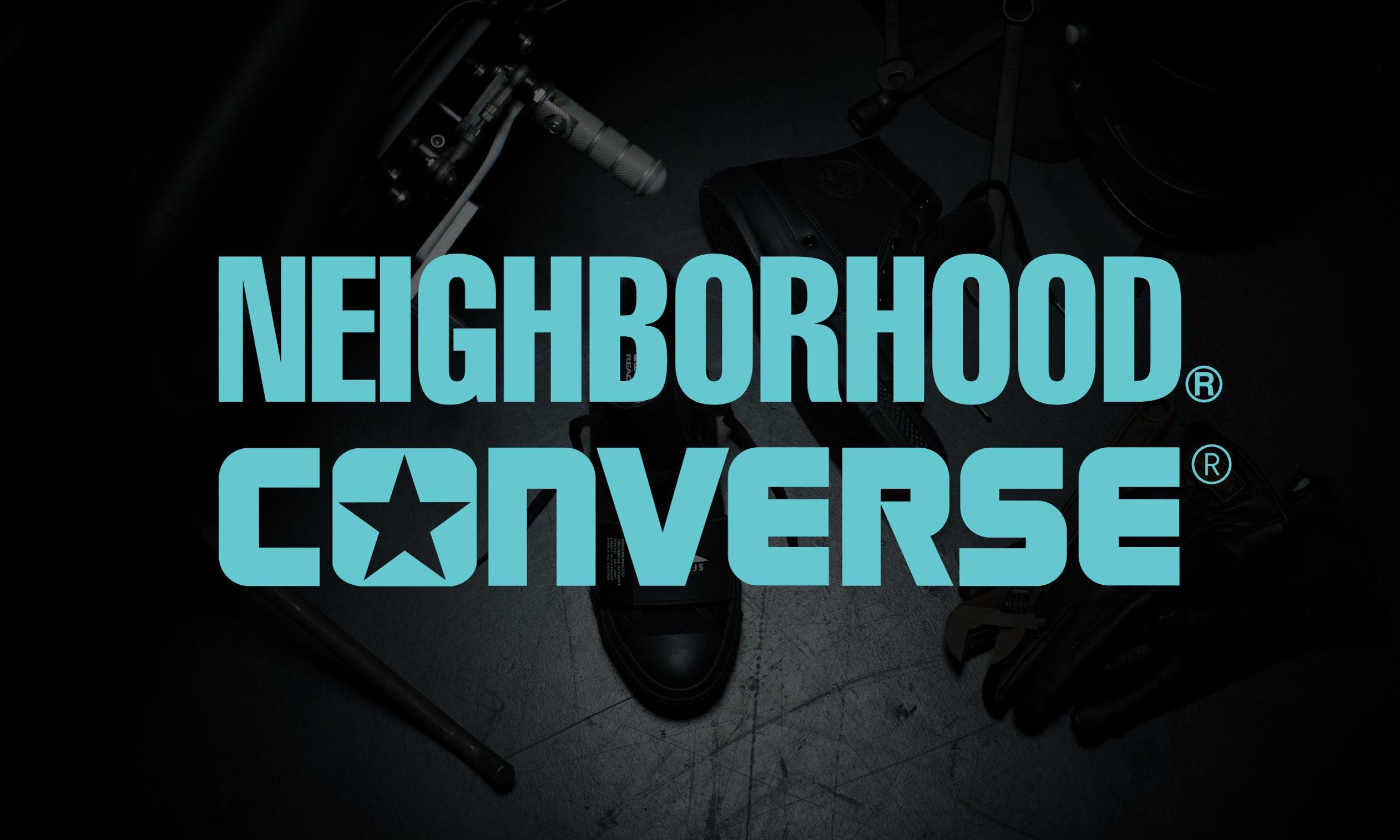 NEIGHBORHOOD x CONVERSE 联名系列宣传影片释出