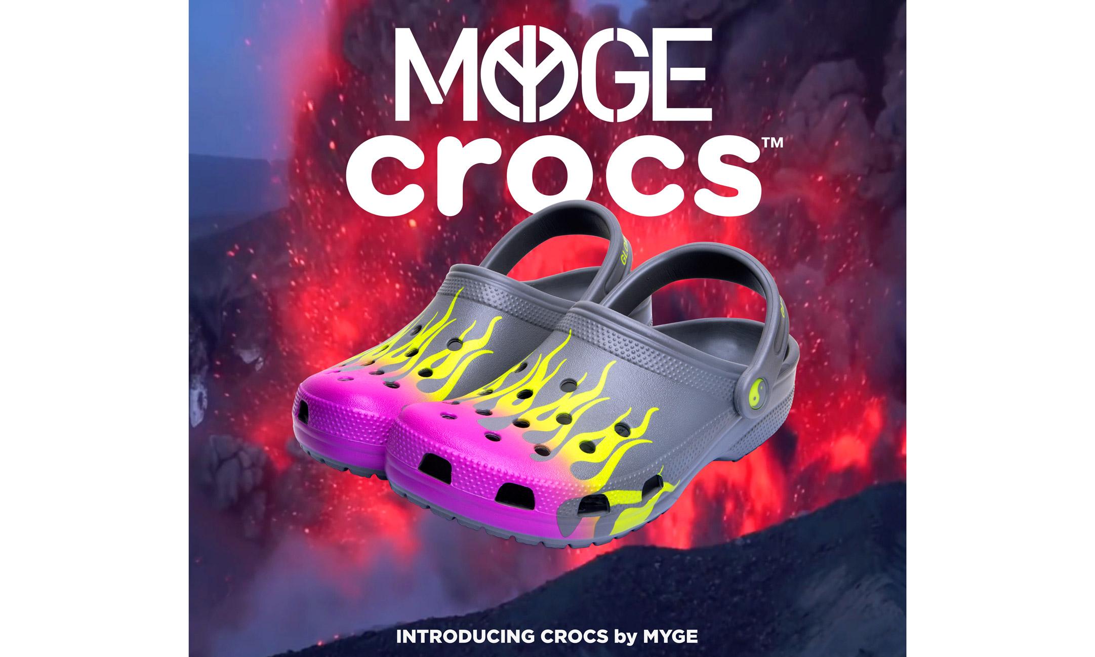 MYGE 携手 CROCS 全新联名鞋款特别呈现