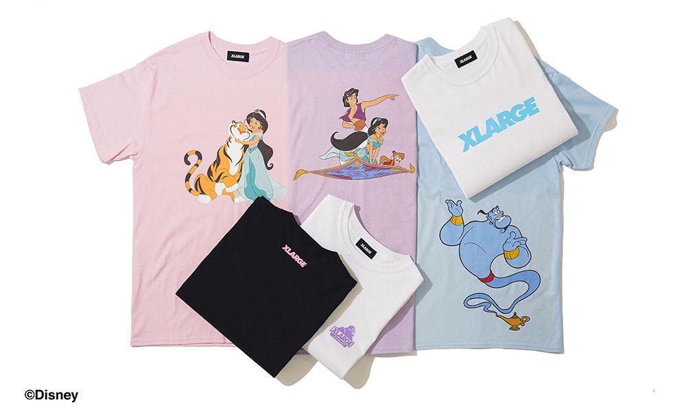 XLARGE® 与迪士尼电影合作推出 Aladdin 系列