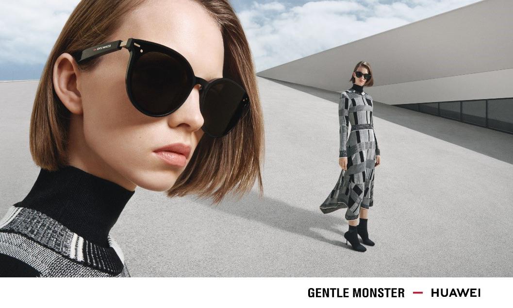 GENTLE MONSTER 携手华为推出 EYEWEAR 智能眼镜系列