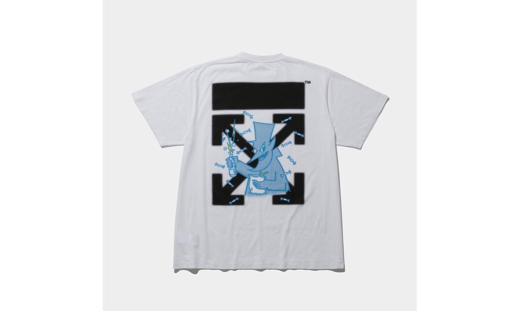 Fragment x Off-White™ 全新 T 恤即将登陆 The Conveni 发售