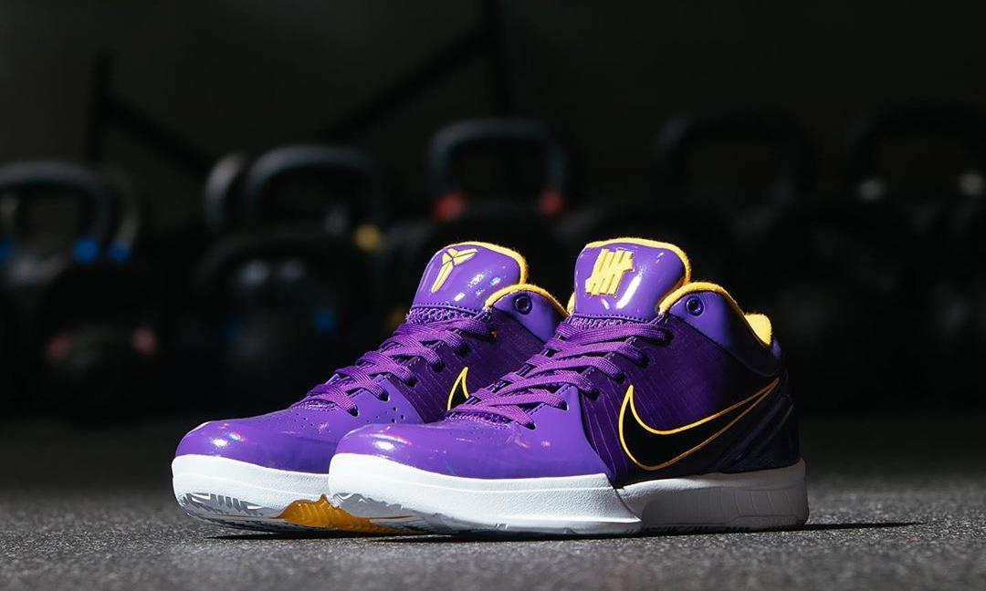 近赏全新 UNDEFEATED x Nike Kobe 4 Protro 系列