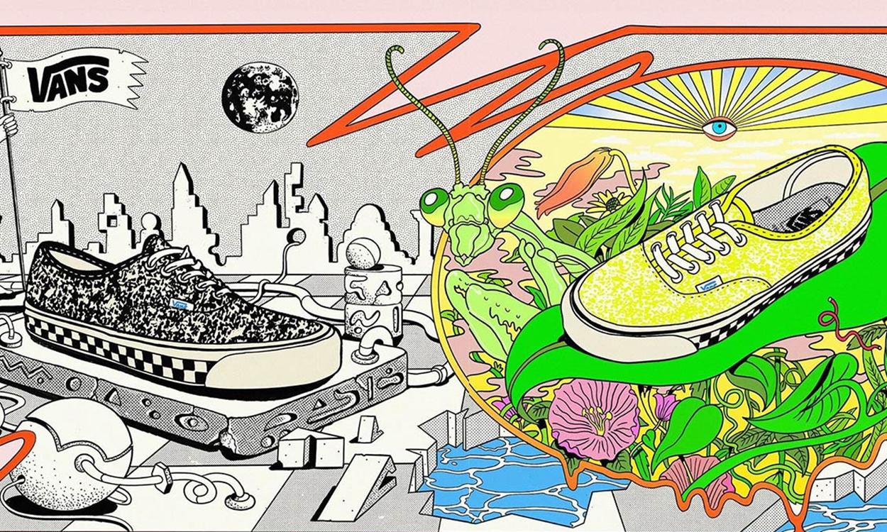 "Saint Alfred x Vans Vault 全新联名系列 ""Acid"" 发布"