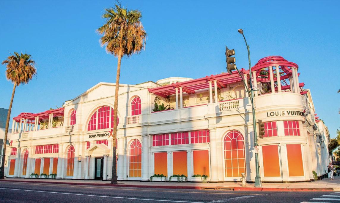 走近加州比佛利山庄 Louis Vuitton X 展览