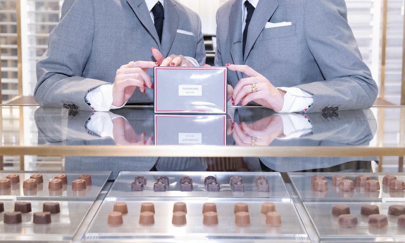 全球首家 Thom Browne 巧克力店即将投入运营