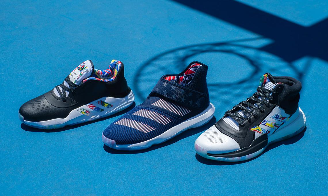 adidas 发布全新 FIBA 男篮世界杯系列鞋款