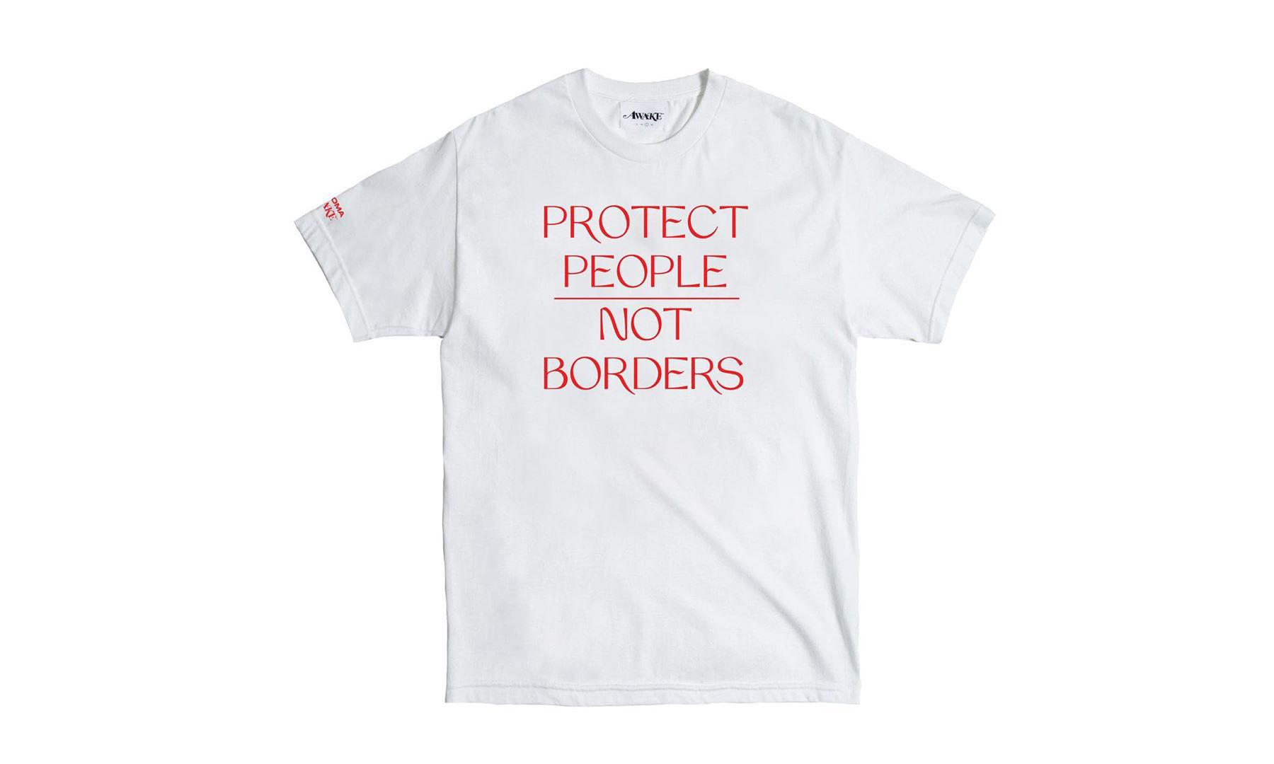 AWAKE NY 打造慈善 T-Shirt 帮助美墨边境移民