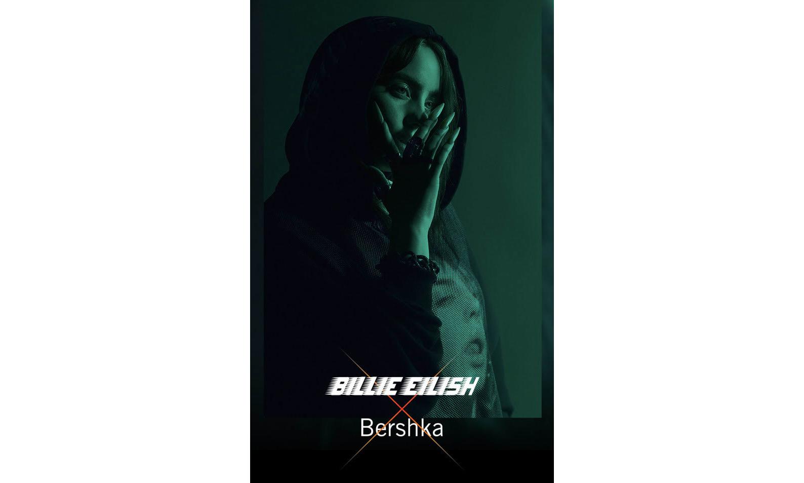 碧梨粉丝福音,Billie Eilish x Bershka 联名胶囊系列预告片释出