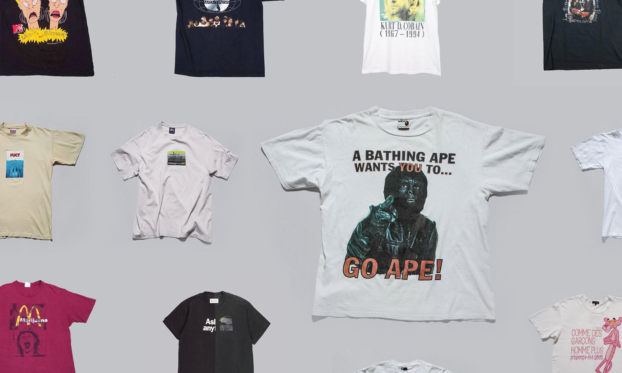 趁着天气还热,数十款古董 T-Shirt 推荐给你
