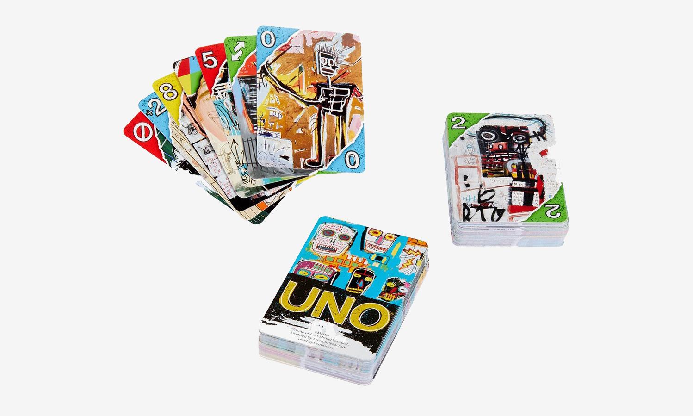 让游戏充满艺术,UNO 推出 Jean-Michel Basquiat 涂鸦牌组