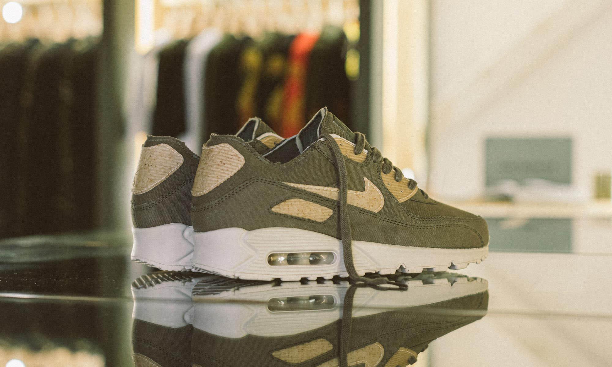 庆祝旗舰店开业,maharishi 与 Nike 推出限量版 Air Max 90