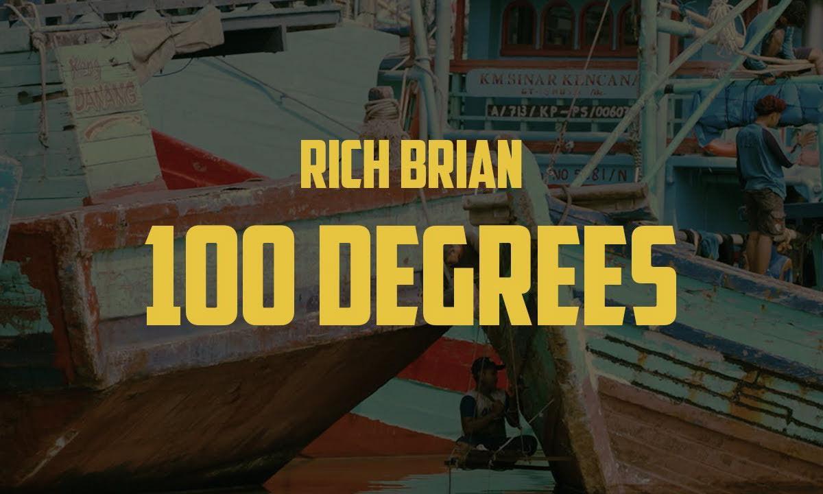 Rich Brian 发布新单曲《100 Degrees》MV