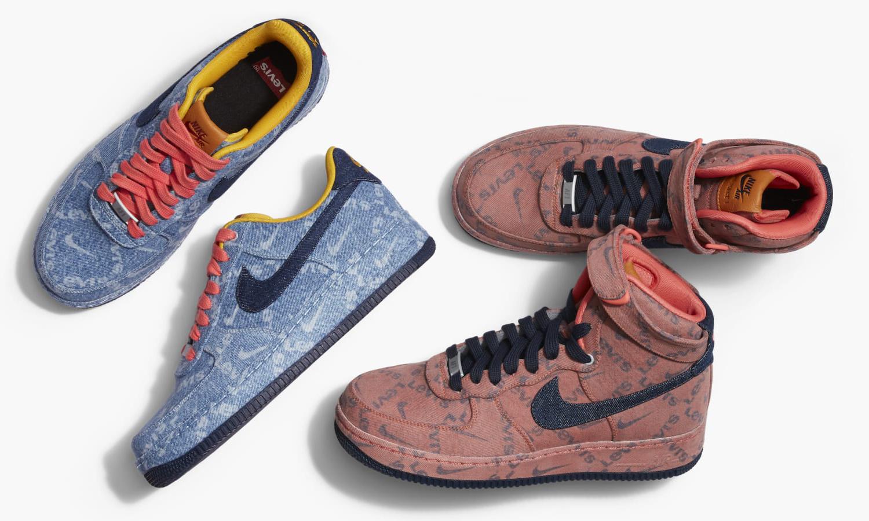 还有机会,Nike Air Force 1 Levi's By You 全新配色曝光