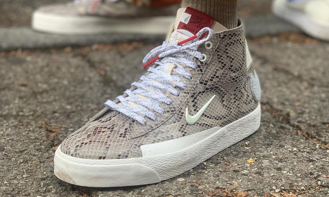 Soulland x Nike SB Blazer Mid 现身哥本哈根时装周