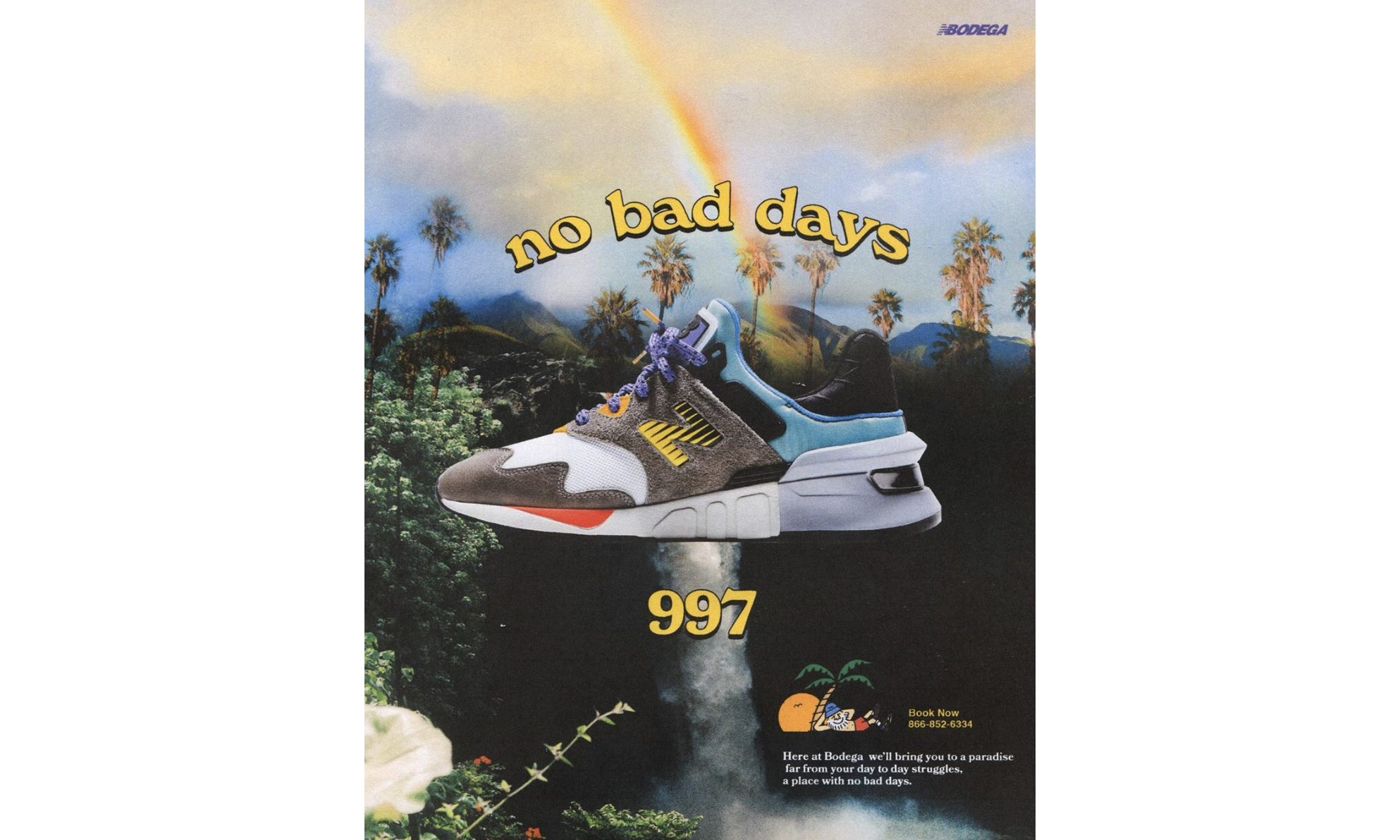"Bodega x New Balance 997S ""No Bad Days"" 终于要发售了"
