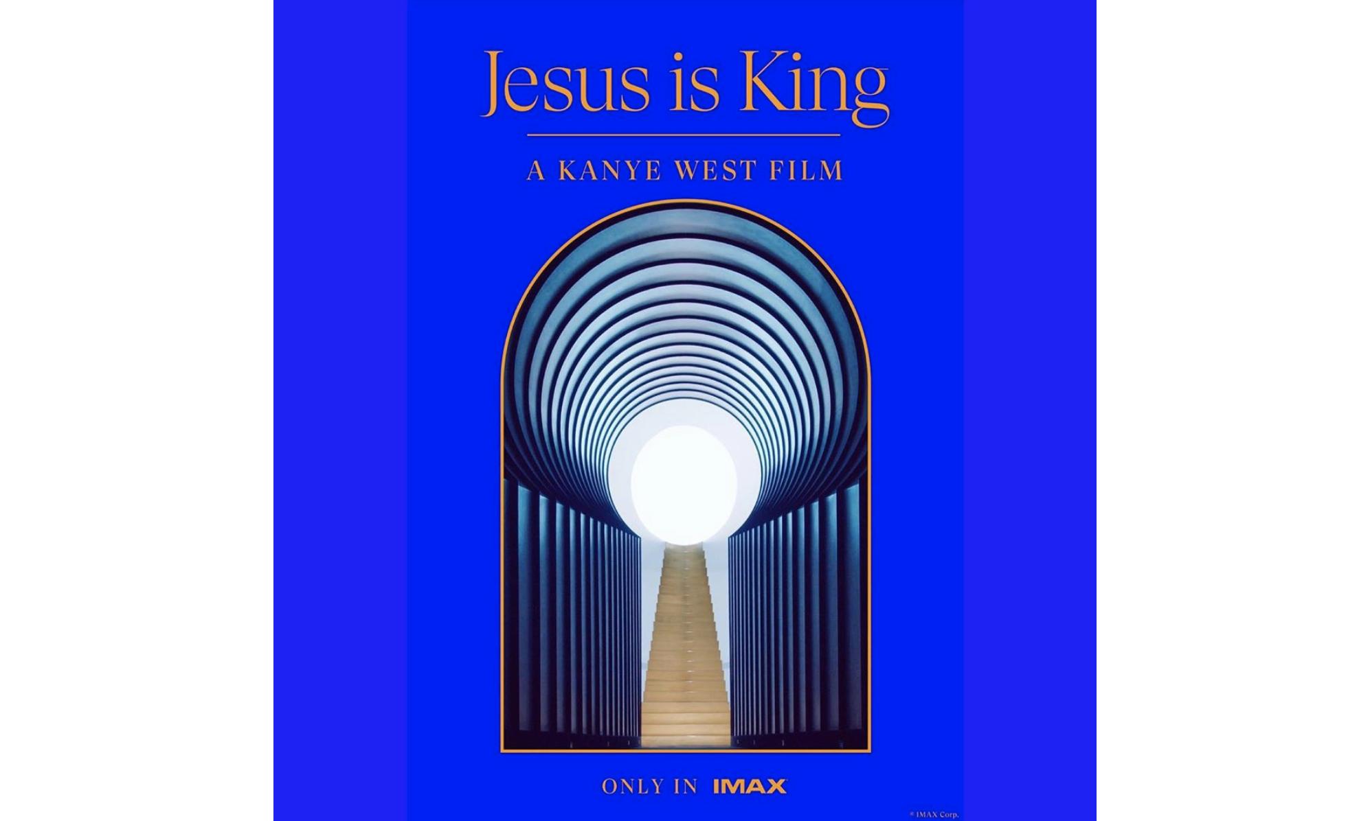 Kanye 新专辑《Jesus Is King》同名纪录片将于下月上映