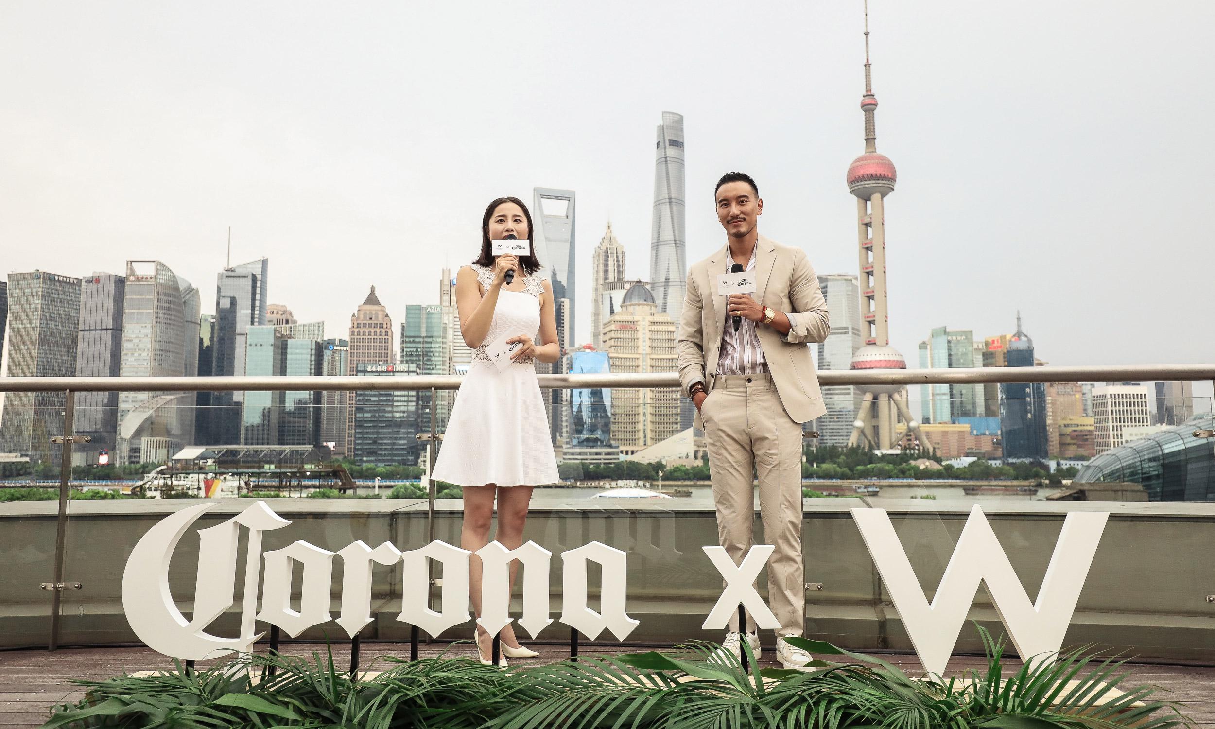 科罗娜首次跨界携手上海外滩 W 酒店,特别呈现 PACHA ON TOUR 派对