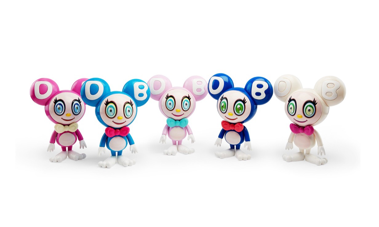 """村上隆与 MoMA Design Store 联合打造限定版 """"DOB-Kun"""" 玩偶"""