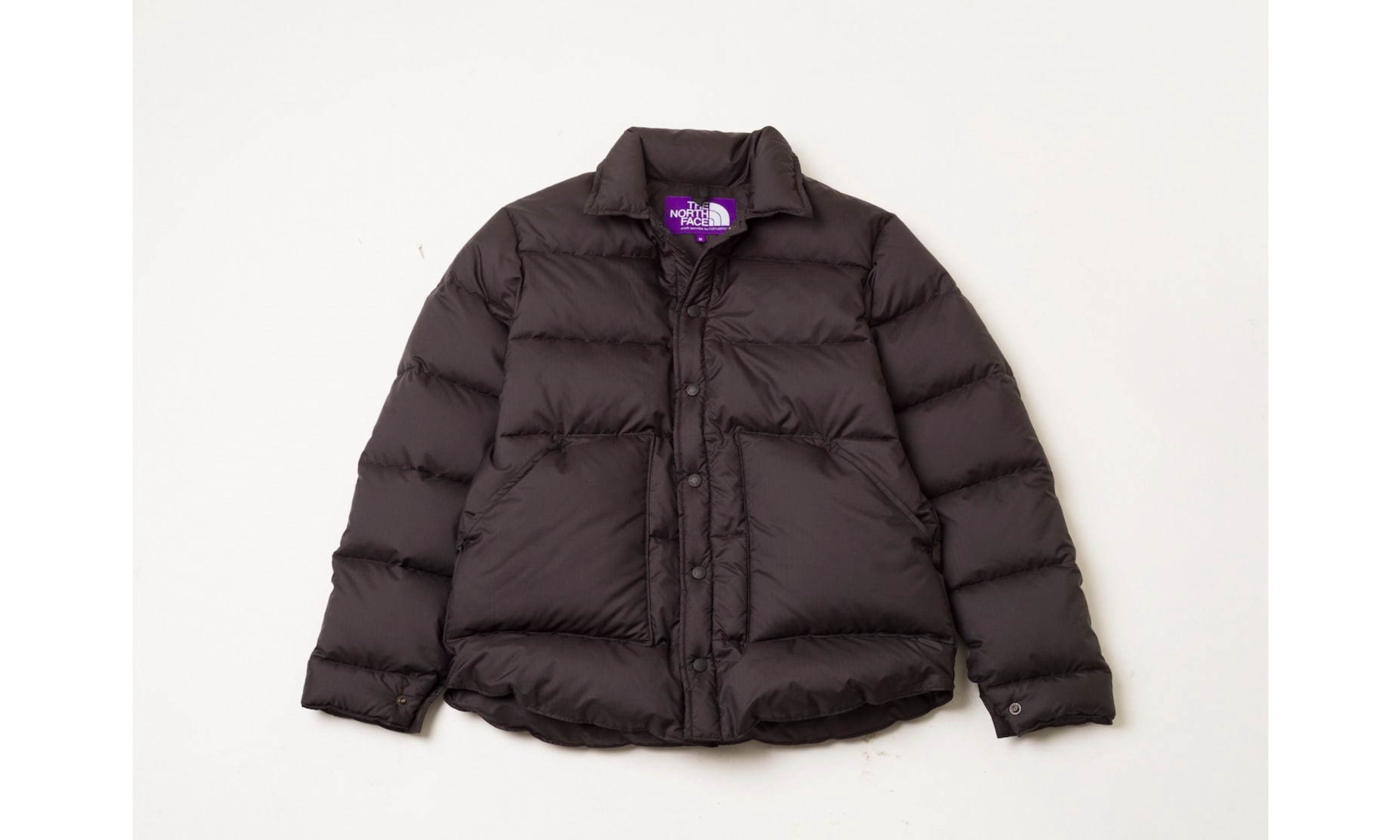 THE NORTH FACE PURPLE LABEL 与 RHC Ron Herman 联合打造衬衫式羽绒服