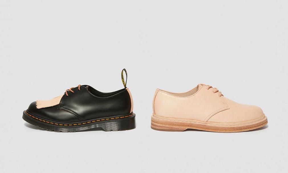 经典再现,Dr. Martens 联手日本鞋履品牌 Hender Scheme