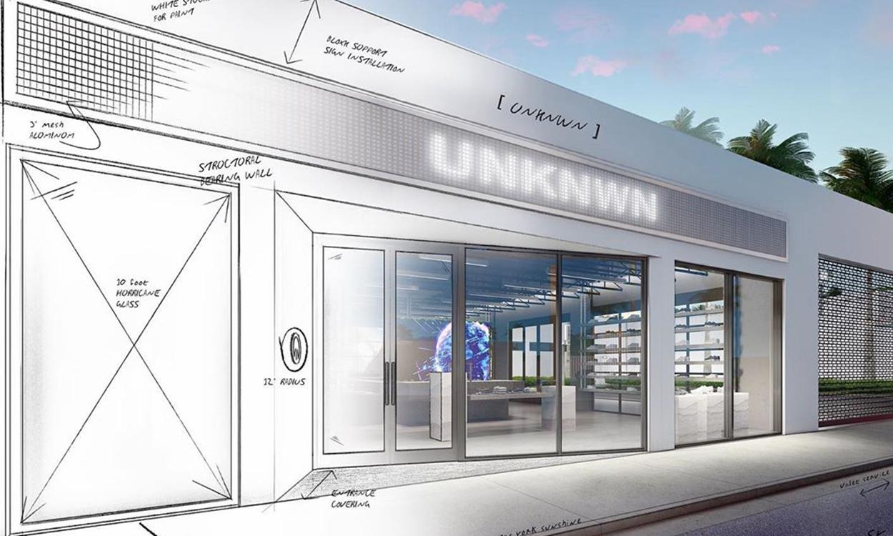 潮流名所 UNKNWN 将于迈阿密开设全新门店
