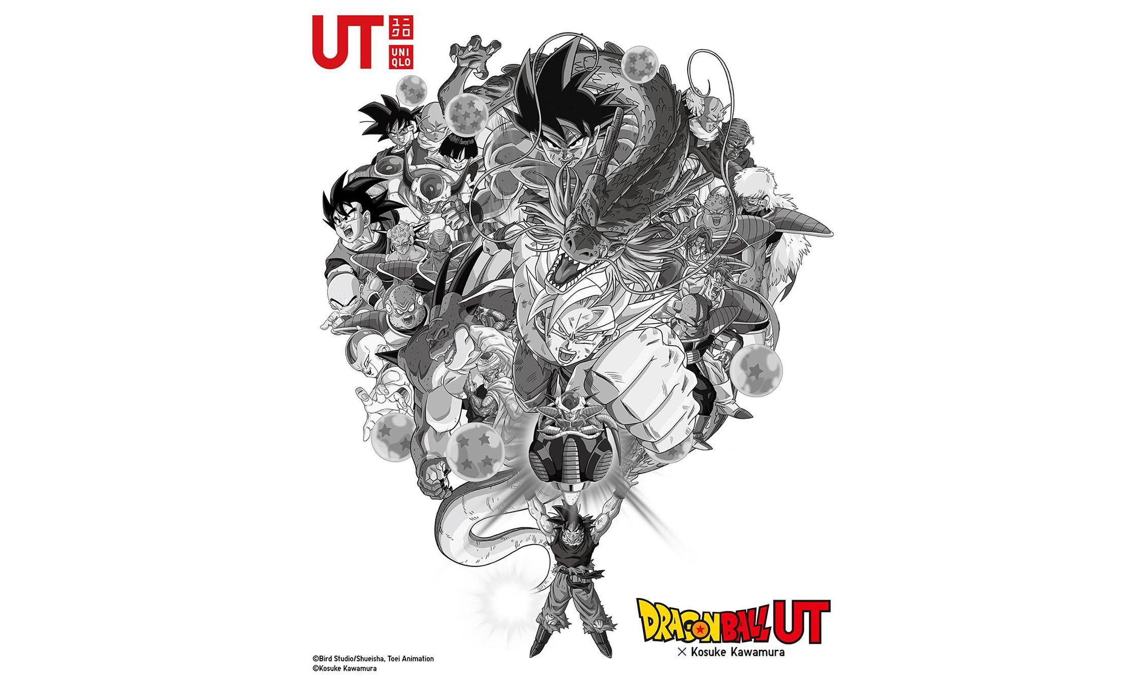 UNIQLO UT ×《Dragon Ball》× Kosuke Kawamura 联名系列将于 11 月登场