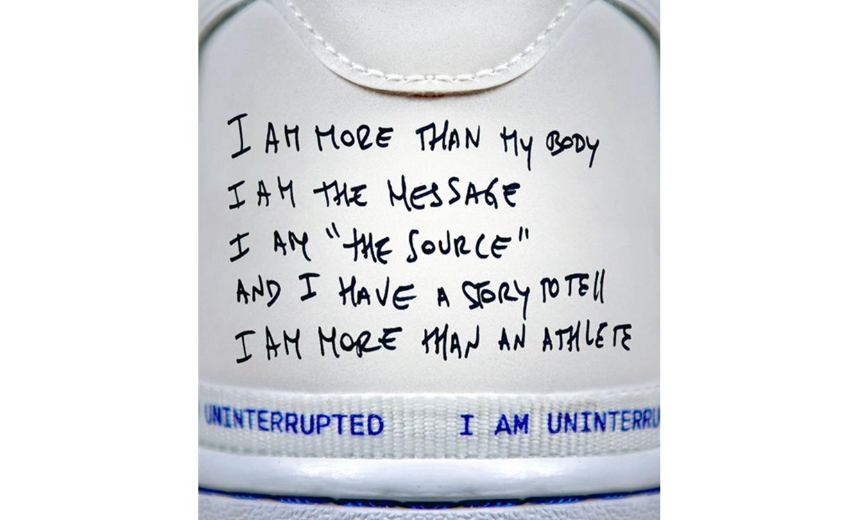 勒布朗·詹姆斯旗下公司 Uninterrupted x Nike Air Force 1 联名鞋款曝光