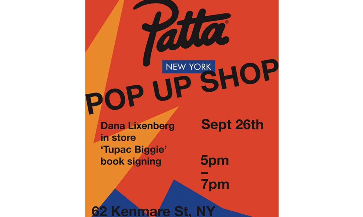 Patta 纽约 Pop-Up Store 限定店之旅即将起航