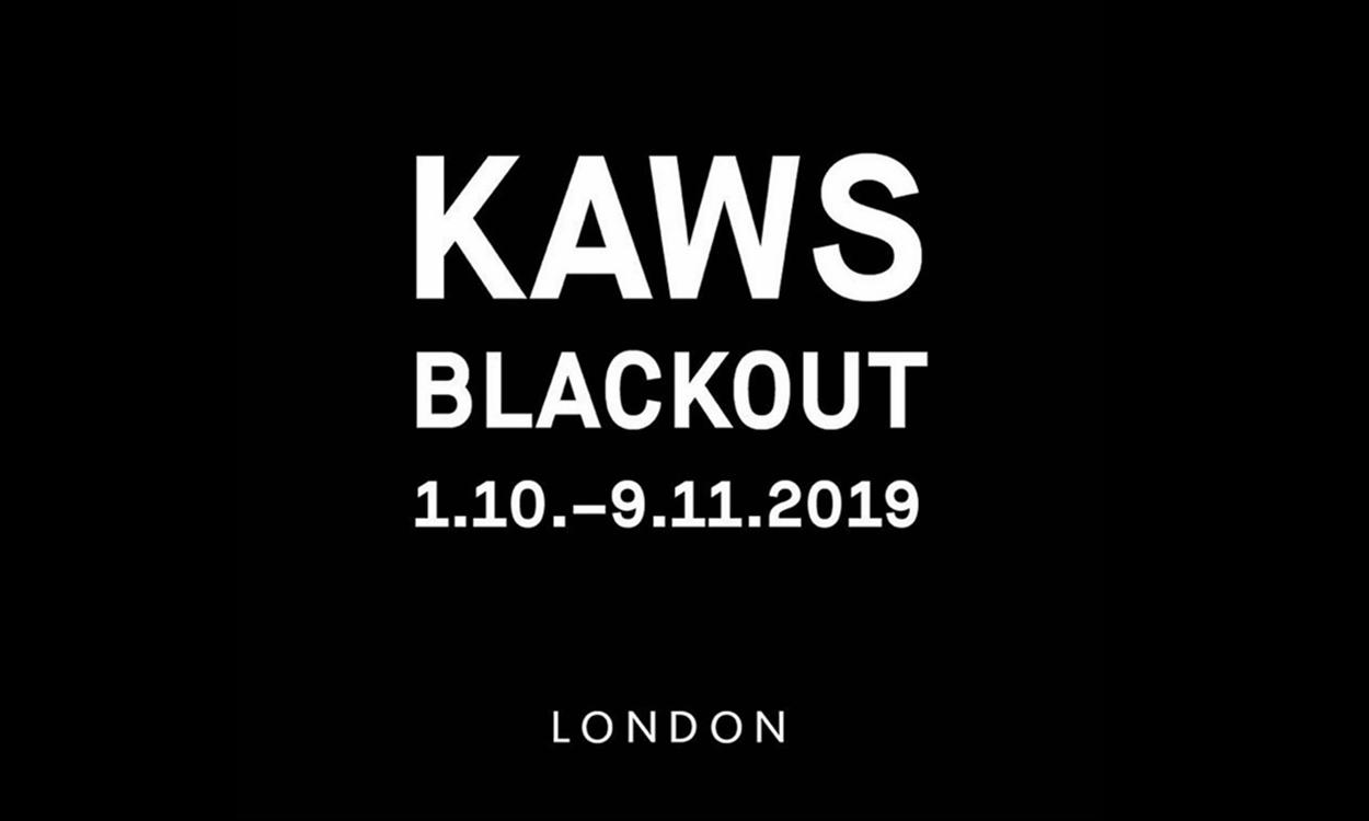 《KAWS:BLACKOUT》艺术展览将于伦敦正式开幕