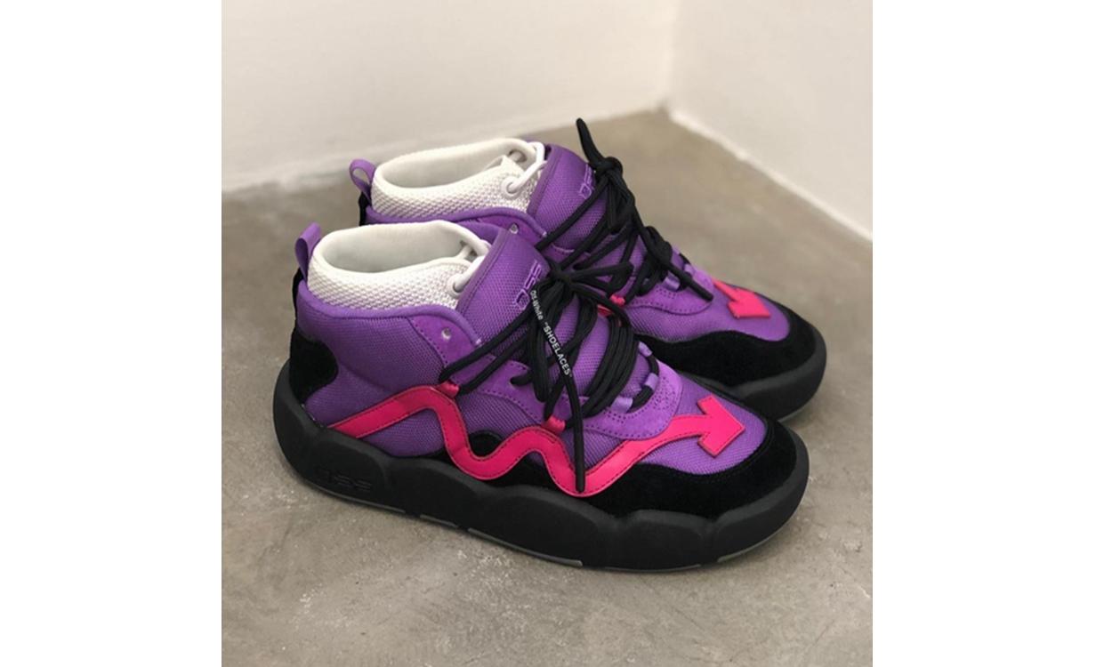细节近赏,Virgil Abloh 亲晒 Off-White™ 2020 春夏系列秀场鞋款