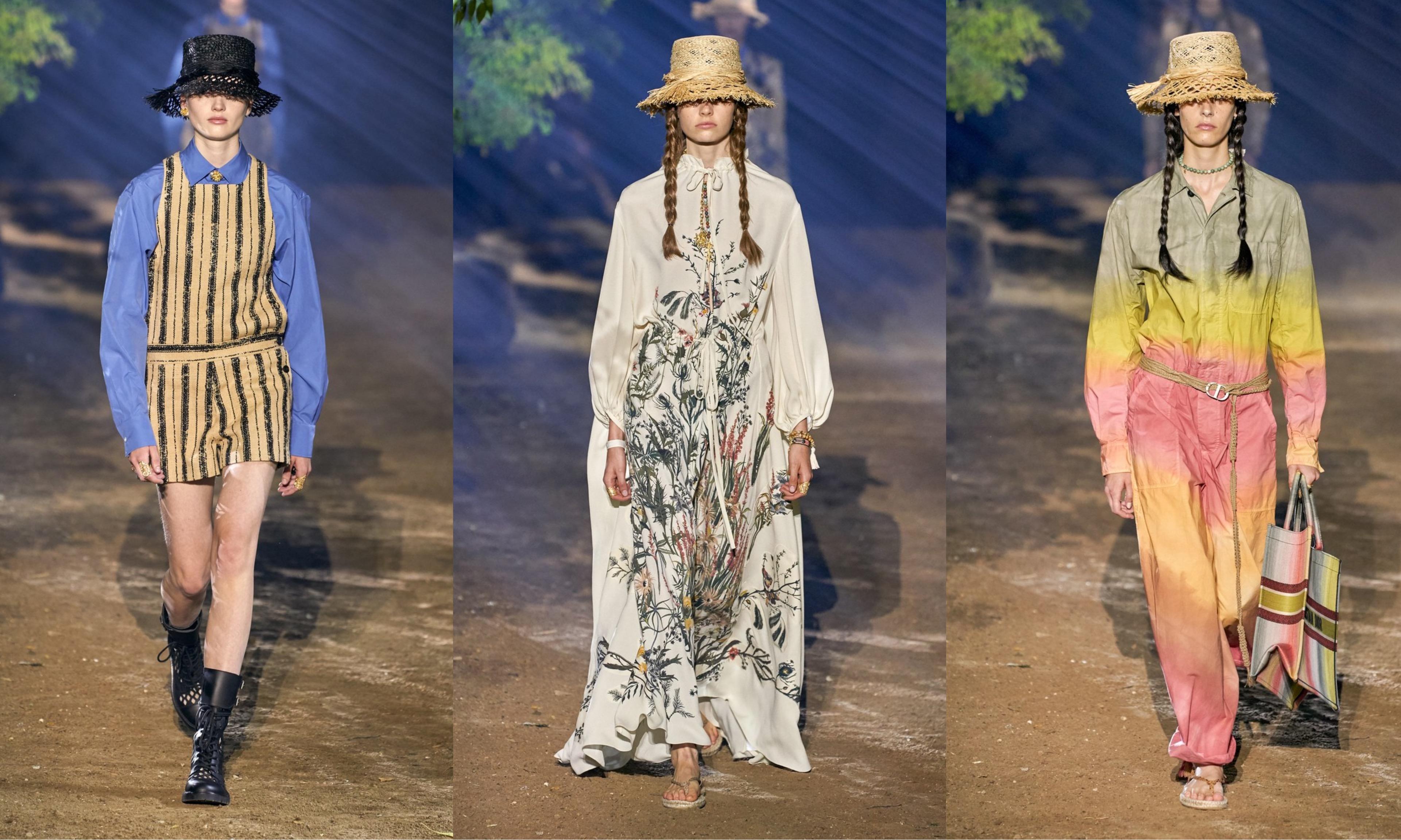 重归健康花园,Dior 2020 春夏系列秀场回顾