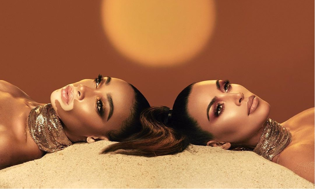 "Kim Kardashian 宣布将与""奶牛超模"" Winnie Harlow 合作推出彩妆"