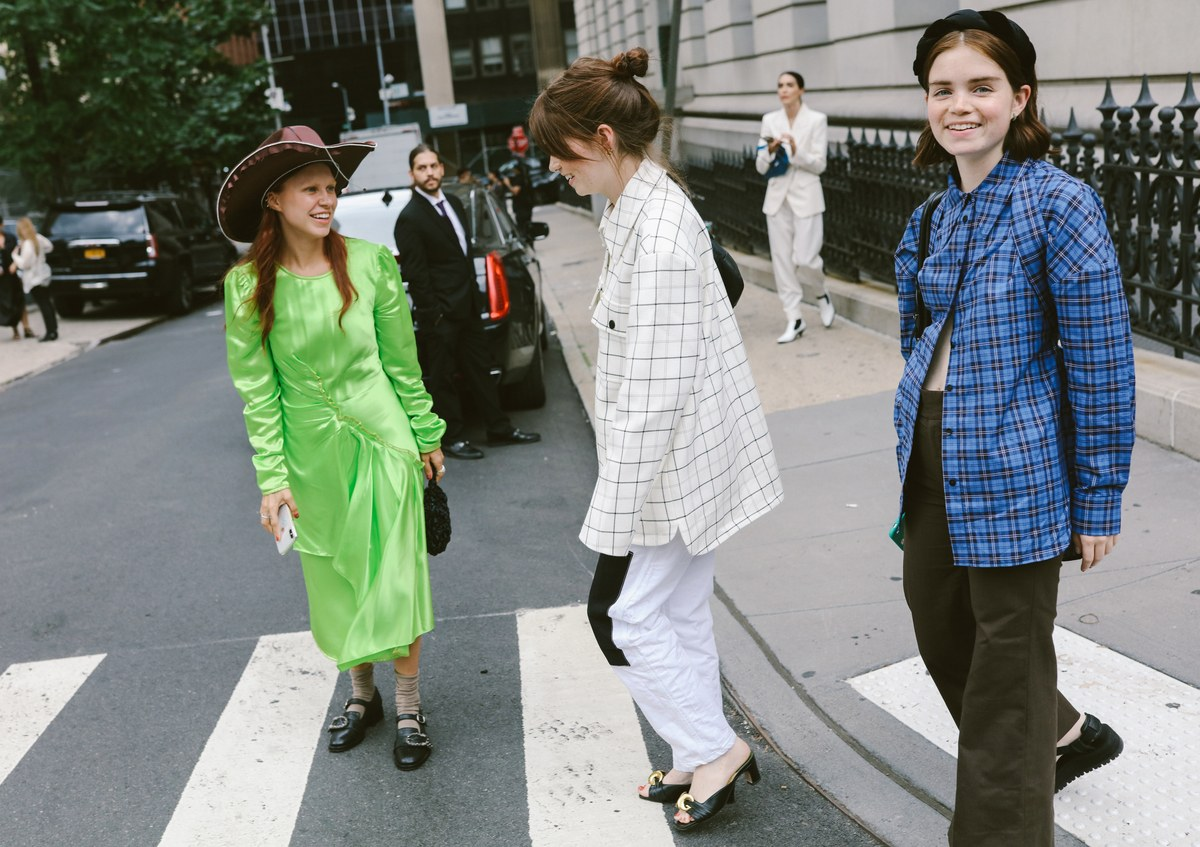 时装周期间,Phil Oh 镜头下的纽约街头风格