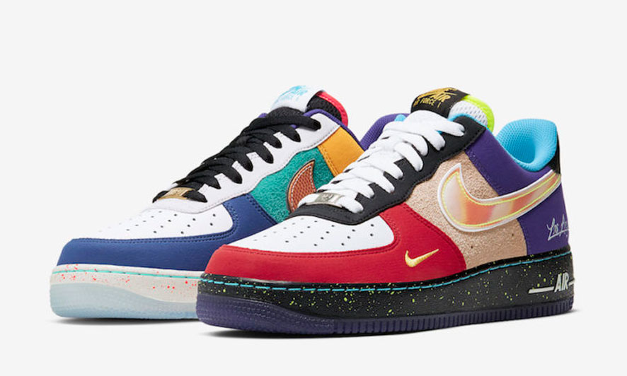 """Nike 推出全新运动主题拼接 Air Force 1 """"What The LA"""""""