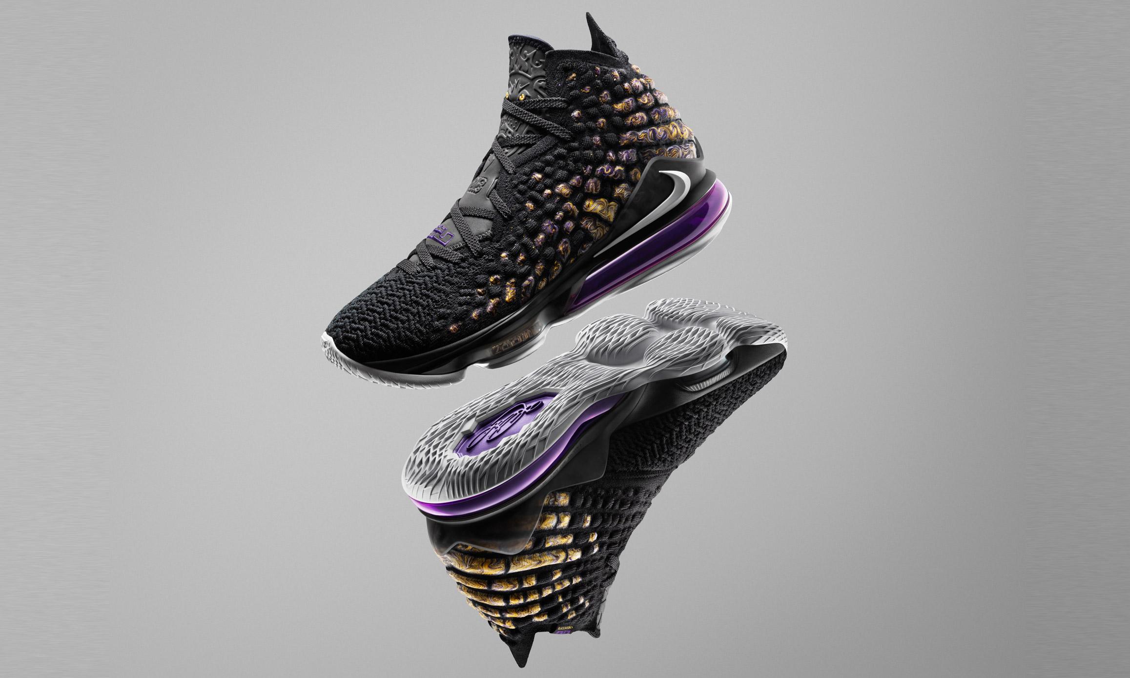 砥砺前行,勒布朗全新战靴 Nike LEBRON XVII 荣耀登场