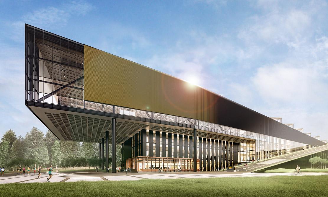 """勒布朗·詹姆斯 """"喜提"""" Nike 全球总部新建筑"""