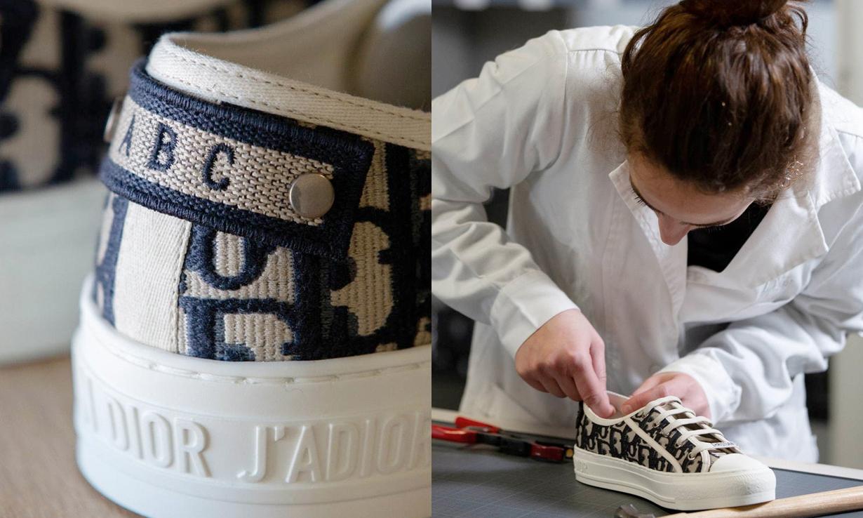 可以将帆布鞋刺绣上自己的名字,Dior 推出全新客制化服务