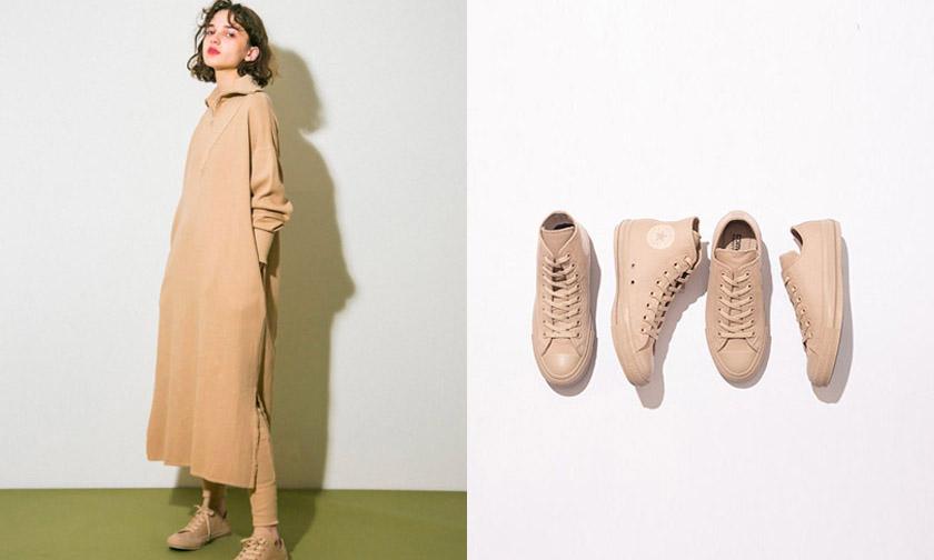 与日本时尚品牌 Emmi 合作,CONVERSE Japan 最新联乘系列释出