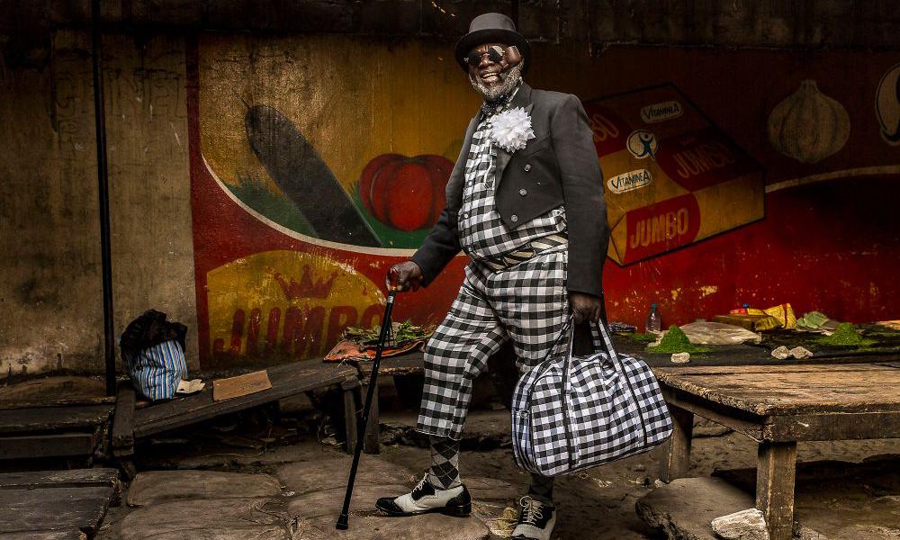 解读 La Sape,一种真正的非洲时尚文化