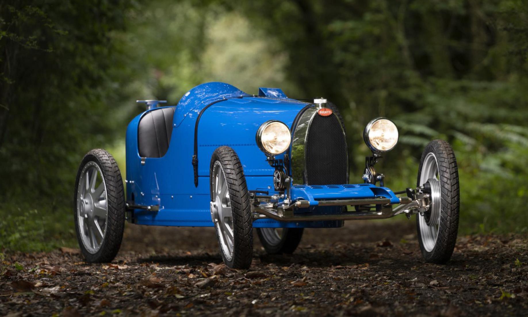童车都买不起,Bugatti 推出 Type 35 Baby II 童车