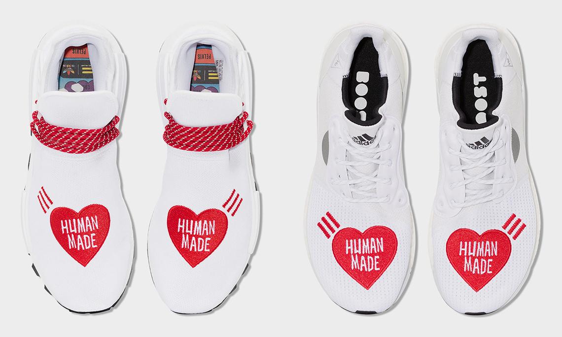 """""""小红心"""" 再临,HUMAN MADE x adidas """"Love"""" 限定系列释出"""