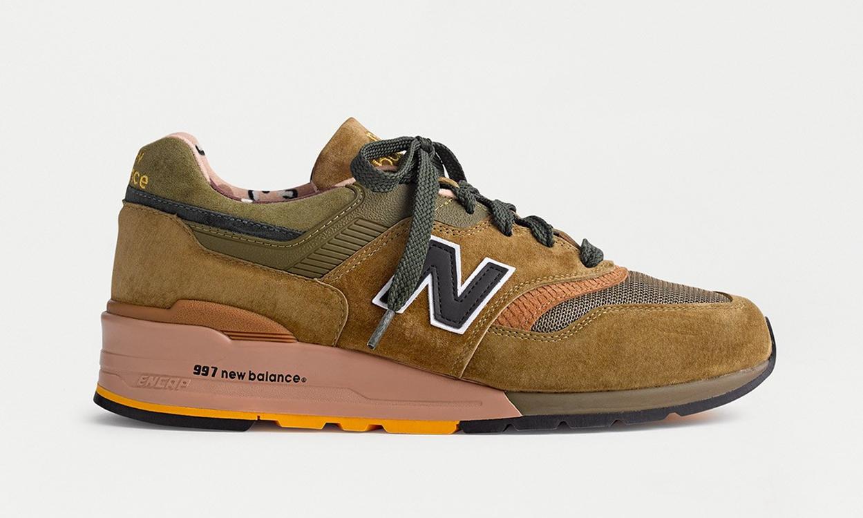 J.Crew x New Balance 997 全新联名鞋款正式登场