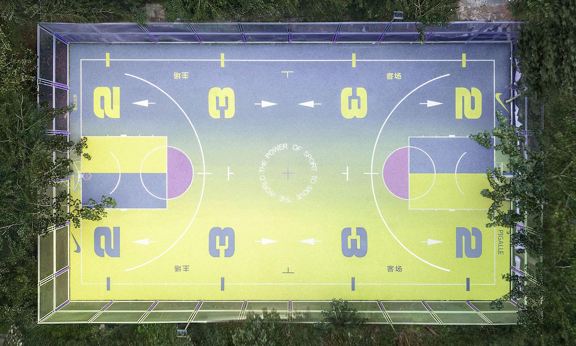 "Pigalle 与 Nike 把 ""网红篮球场"" 搬到了北京"