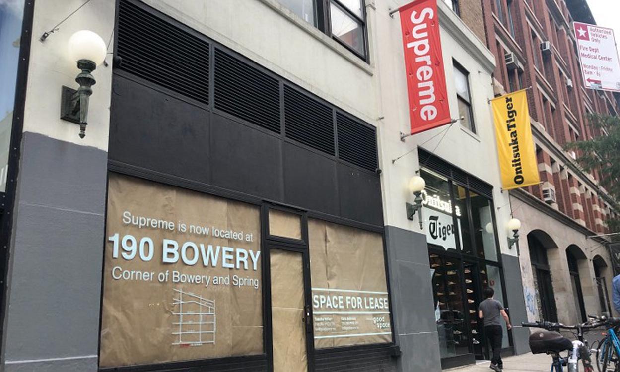 空屋待租,Supreme 正式关闭纽约拉斐特街道门店