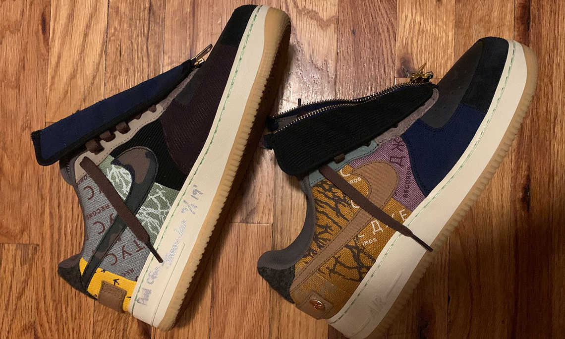 抢先预览 Travis Scott x Nike 全新联名 Air Force 1 细节