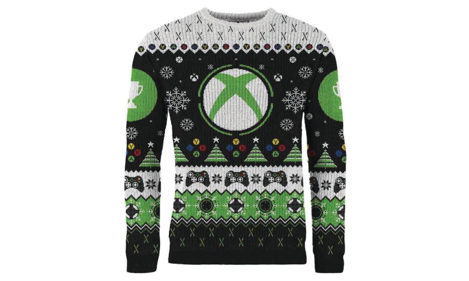 """玩家专属,微软官方打造 Xbox 限定圣诞 """"丑毛衣"""""""