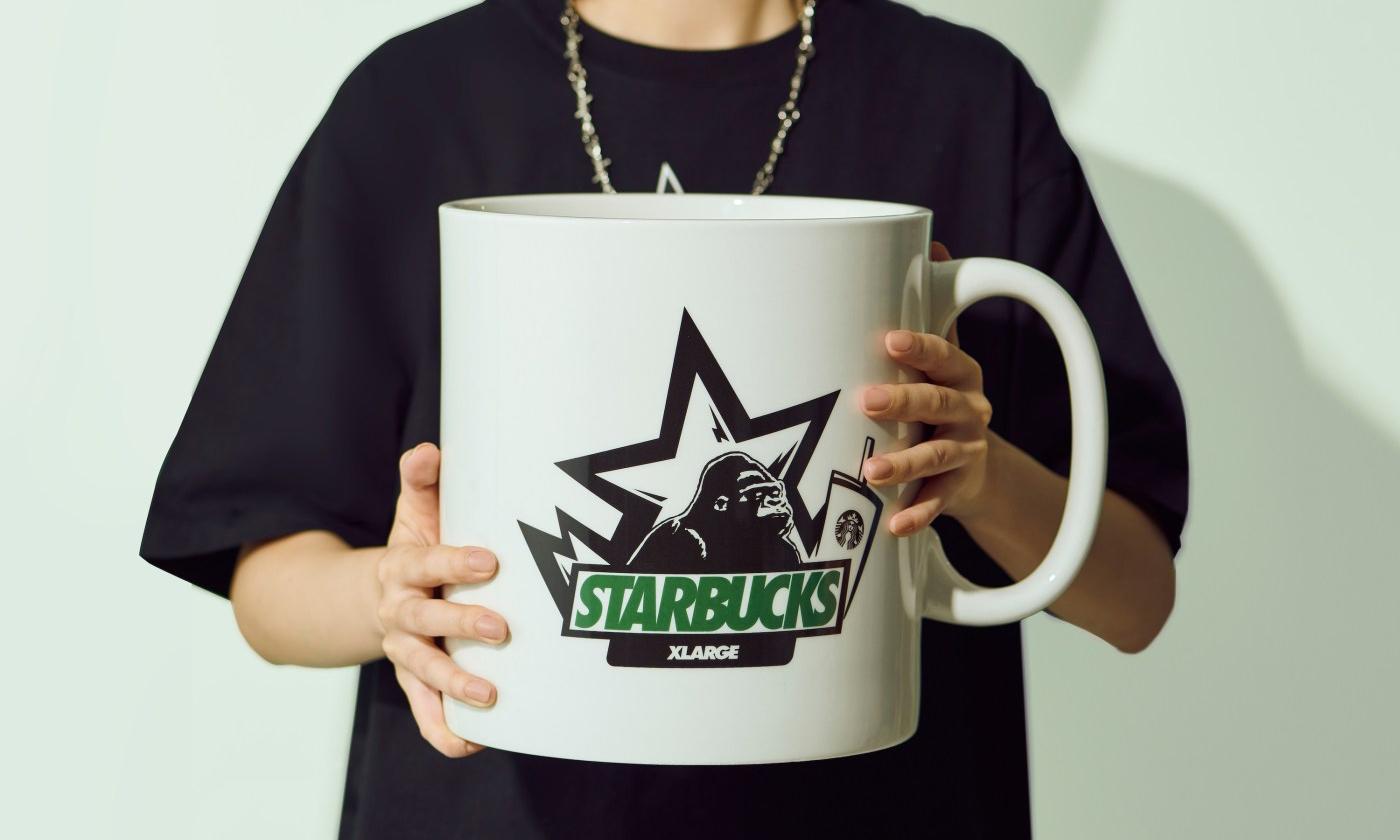 "XLARGE x Starbucks ""梦想就要无限大"" 系列联名款"