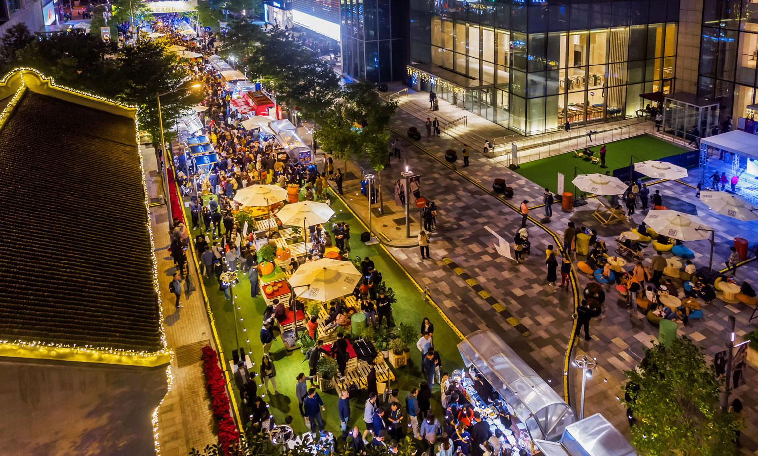 上海周末打卡新去处,「安义夜巷」正式开幕