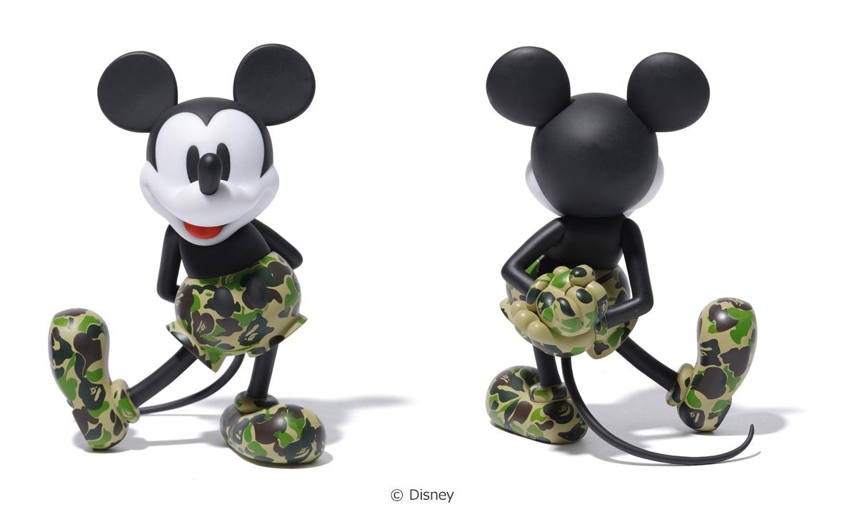 Disney x BAPE® x MEDICOM TOY 打造三方联名米奇玩偶