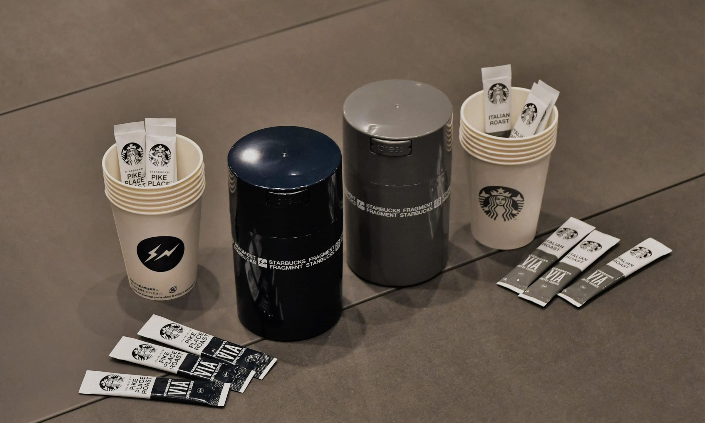 fragment design x 星巴克秋冬联名咖啡套组释出
